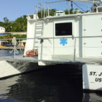 The Health Department dedicated a state-of-the art ambulance boat in Sprauve's name in 2015. The vessel sustained minor damage in the passage of Hurricane Irma. After it was repaired a few weeks later, Sprauve took the wheel and guided it back to Cruz Bay.