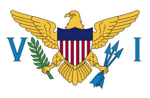 The flag of the U.S. Virgin Islands.