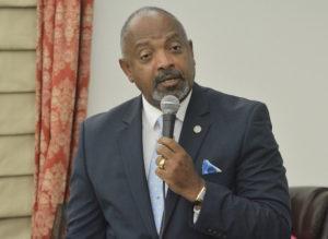 Lt. Gov.-elect Tregenza Roach. (File photo by Barry Leerman for the V.I. Legislature)
