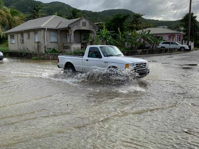 Hazardous Storm Conditions Caused Outages, Flooding on St. Croix
