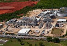 2010 aerial view of the Diageo USVI's Captain Morgan Rum distillery. (File photo, © Eric Crossan)