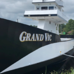 The Motor Vessel Grand Vic, owned and operated by Love City Car Ferries Inc.