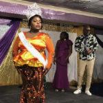 Rachelle Jn-Paptiste wears the crown she just won as Miss St. Croix. (Elisa McKay photo)
