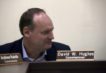 PSC member David Hughes expresses concerns Tuesday over WAPA's financial state.