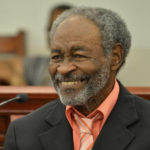 Irvin 'Brownie' Brown appears before the V.I. Legislature at a hearing earlier this year. (Photo by Barry Leerdam for the V.I. Legislature)