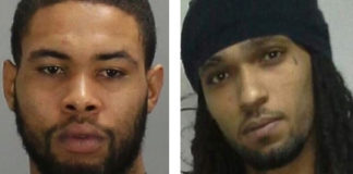 The VIPD has named Khalid Wilson, left, and Jahkim Santiago as 'persons of interest' in a Jan. 1 homicide. (VIPD photos)