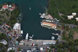 The Victor Sewer Marine Facility on St. John, where VIPA will begin construction of a new Customs and Border Protection Building. (Photo from VIPA)