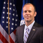 Official FEMA portrait of Brock Long, who resigned Wednesday as the administrator of FEMA.