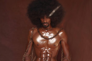 Emmanuel Phillips' brother, Adream, was the model for his photo, 'Chains.'