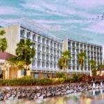 Concept drawing of proposed hotel at Yacht Haven Grande presented to the V.I. Legislature in 2018. (V.I. Legislature image)