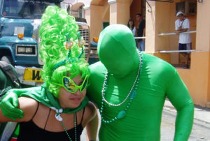 It's all about the green at the St. Patrick's Day Parade – and sometimes the orange. (File photo)