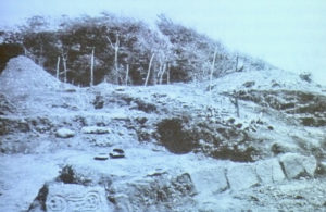 Taino petroglyphs unearthed on St. Croix in 1924 and shipped to Denmark. (Source file photo)