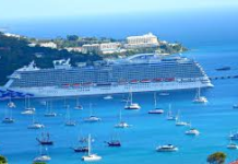 The WICO Cruise Ship Dock in Charlotte Amalie harbor. (File photo)