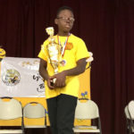 GHCDS seventh grader Michael Atwell is the St. Croix District Spelling Bee Champion for 2019. (Elisa McKay photo)