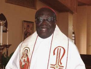 Bishop Emeritus Elliot Thomas (Photo from Catholic Islander magazine)