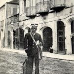 The postman on St. Thomas.