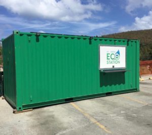 The St. John Eco Station is opening at the old Lumberyard Complex.
