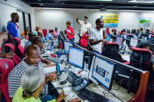 During Hurricane Irma in 2017, emergency responders staff the St. Thomas Emergency Operations Center for VITEMA. On Tuesday, acting VITEMA Director Denise told lawmakers that coordinator of the St. Crix operations center is one of several important, funded positions that remains unfilled. (Photo by K.C. Wilsey for FEMA)