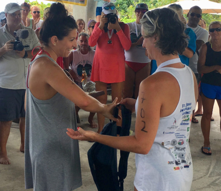 Swimmers Catch Favorable Currents in Beach-to-Beach Power Swim