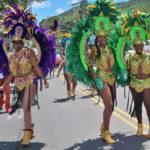 Crucian Carnival troupers. (Don Buchanan photo)