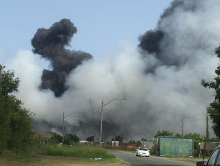Angilla Landfill Closed by Fire – Again