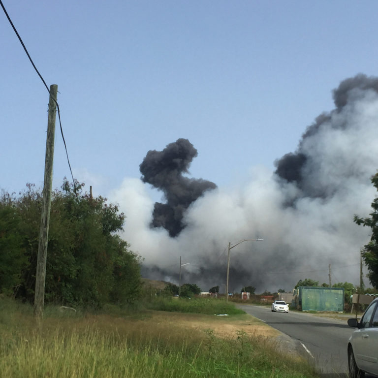 *Update – Reopened * Anguilla Landfill Closed Due to Fire for Seventh Time in Under a Year