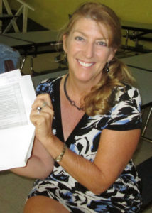 SJCF Executive Director Celia Kalousek (2014 file photo)