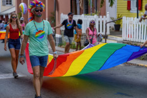 Gay Pride Parade marches through St. Croix. (Submitted photo)