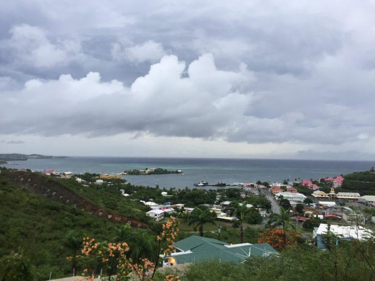 Dorian Just Grazes St. Croix