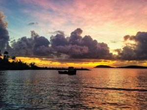 A ferry at sunset. (Source file photo)