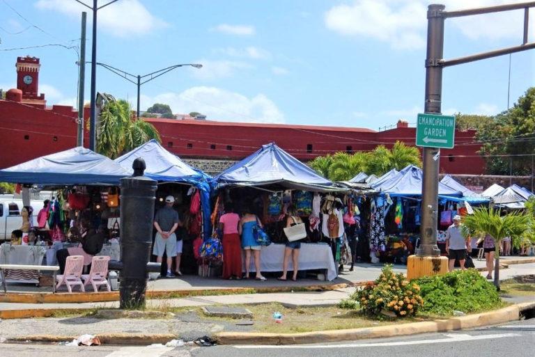 STT Vendors Plaza Upgrades on the Way, V.I. Officials Say