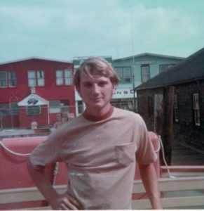 Don Edwards in 1966, just before he left to make his way to the St. Thomas. (Photo provided by Don Edwards)