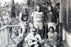 "Groundsea 1988: Don Edwards with his band ""Groundsea,"" named after the local island term for a ground swell. (Photo provided by Don Edwards)"