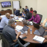 VIPA board members approve contracts that will help bring the Cyril E. King Airport into compliance with federal standards (Source photo by James Gardner)