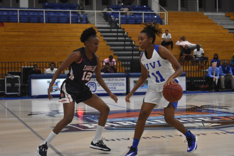 UVI Women's Basketball Drops Pair as College Athletics Return to the VI