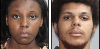 Delecia Daniel and her boyfriend, Kyle Christopher, were arrested and charged with the death of Daniel's 4-year-old son, Aaron Benjamin Jr. (VIPD photos)