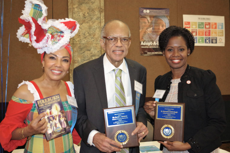 Two from V.I. Receive Humanitarian Awards at Florida Event