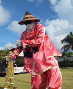 Towering moko jumbles are an integral part of Crucian culture, playing a role in almost any community event. (Source file photo)