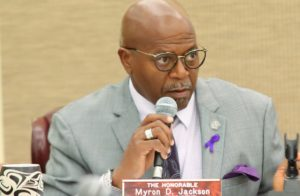 Sen. Myron Jackson (File photo by Omari Hicks, Legislature of the Virgin Islands)