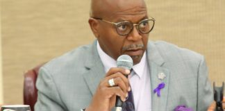 Sen. Myron Jackson (File photo by Omari Hicks, Legislature of the Virgin Islands)