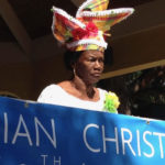 Lena Schulterbrandt during a recent Crucian Christmas Festival. (Photo provided by the V.I. Department of Tourism)