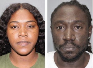 Shawn Daley and Delma Mathurin, face separate charges after a domestic dispute. (VIPD photos)