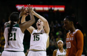 Lauren Cox (15) is a major player for second ranked Baylor. (Photo from Usatoday.com)