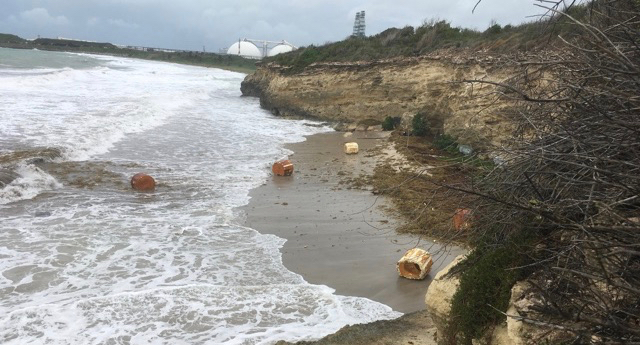 Refinery's Foam Plastic Litters South Shore Months After September Storm