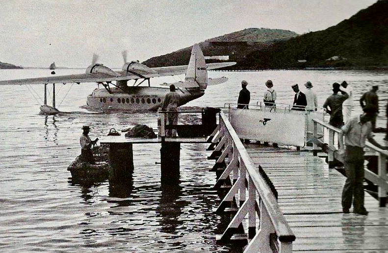Back in the day, 'Baby Clippers' linked the USVI with the outside world. (Historic photo provided by Ronnie Lockhart)