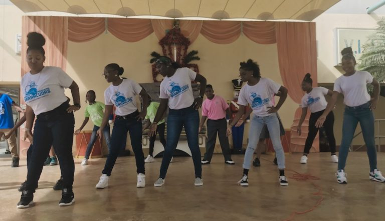 STX Students Explore their Heritage at Culture Pop-Up Dances of the V.I.