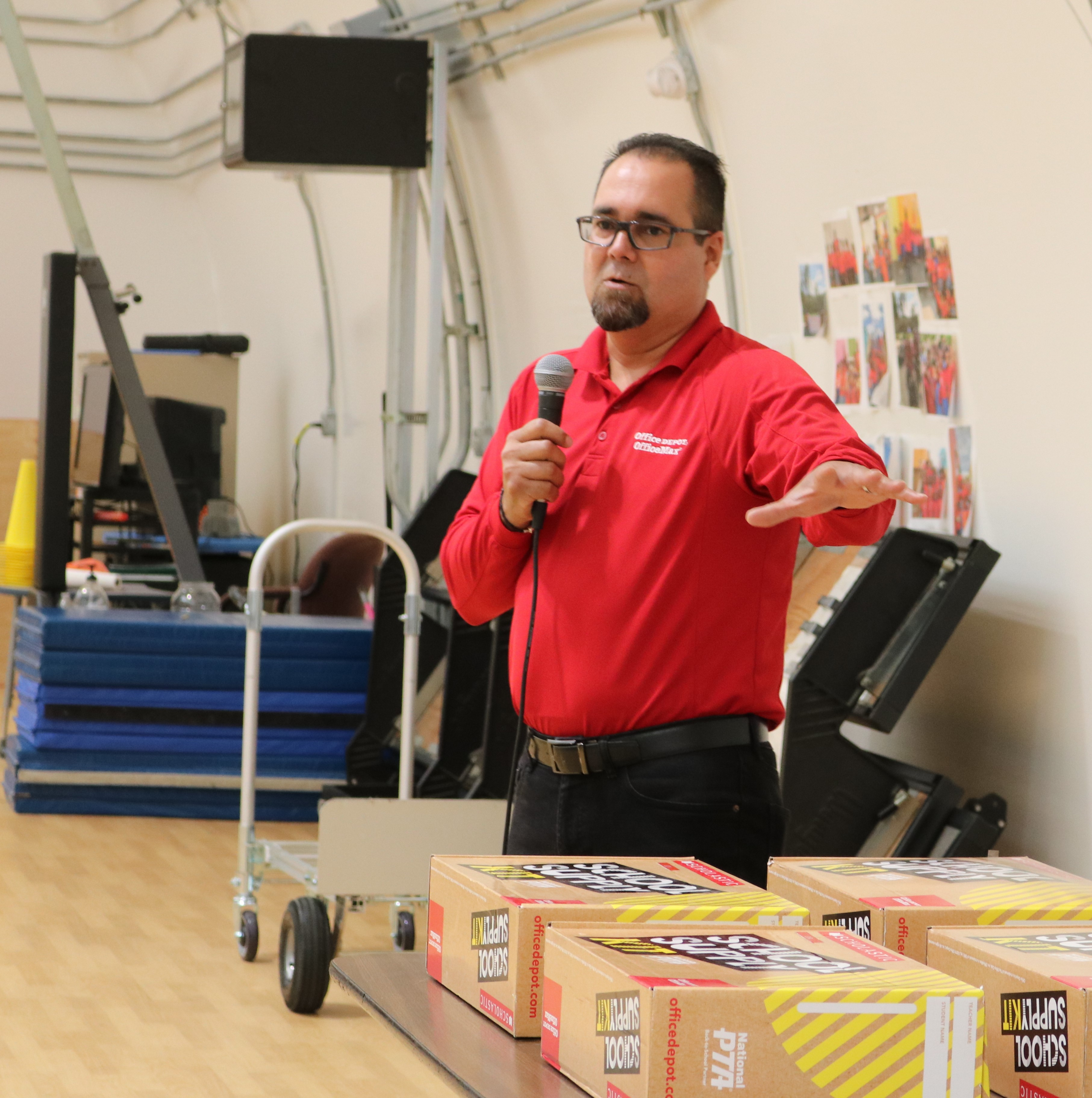 Office Depot Donates $4,000 In School Supplies To Lockhart