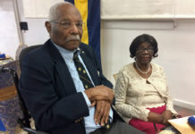 Edgar Iles with his wife Dolores. (Source photo by Don Buchanan)