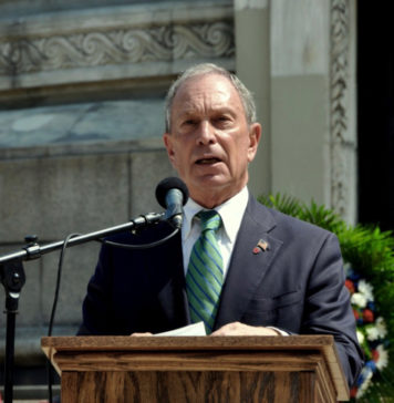 Former New York Mayor Michael Bloomberg will open a presidential campaign office in the territory in February. (Shutterstock image)