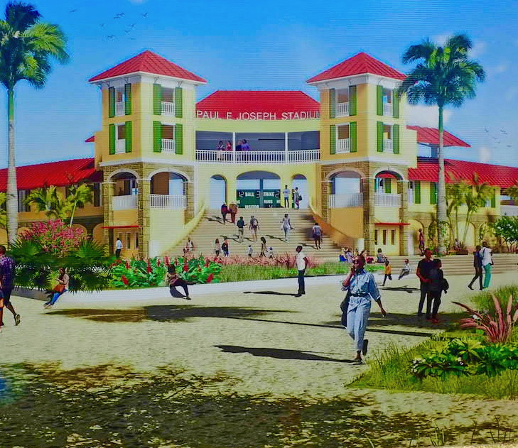 Bryan is Fourth Governor to Take On Frederiksted Stadium